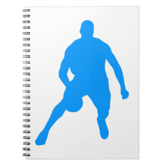 Basketball Silhouette Notebook