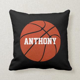 Basketball Skin Custom Player Name Throw Pillow