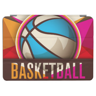 Basketball Sport Ball Game Cool Abstract iPad Air Cover