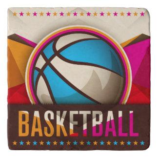 Basketball Sport Ball Game Cool Abstract Trivet