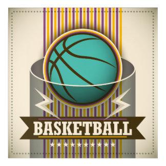 Basketball Sport Ball Game Cool Acrylic Print