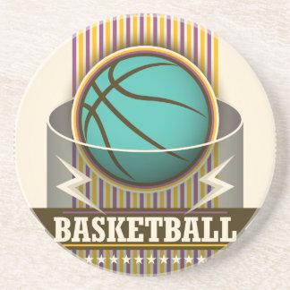 Basketball Sport Ball Game Cool Beverage Coaster