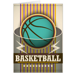 Basketball Sport Ball Game Cool Card