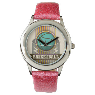 Basketball Sport Ball Game Cool Wrist Watches