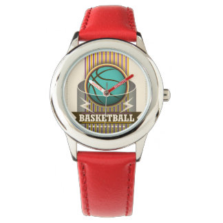 Basketball Sport Ball Game Cool Wristwatches
