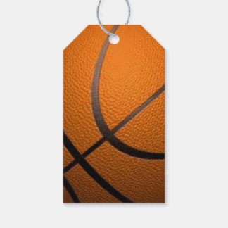 Basketball Sport Design Gift Tags