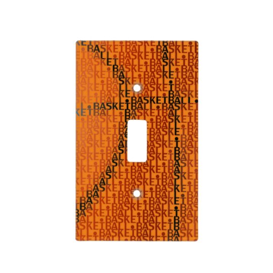 Basketball | Sport Gift Light Switch Cover