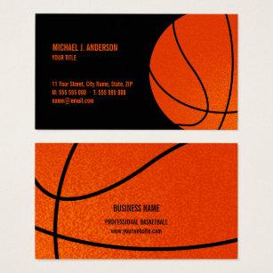 Sports coach business cards business card printing zazzle ca basketball sports coach business card colourmoves