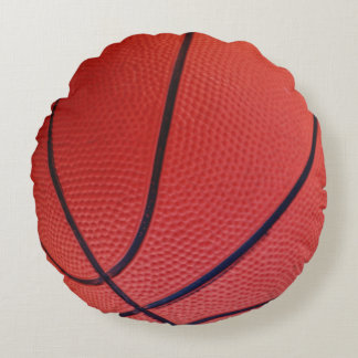 Basketball Sports Team Round Pillow