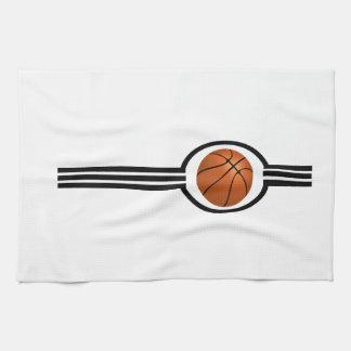 Basketball Stripes Kitchen Towel