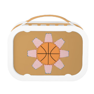 Basketball Sun Lunch Boxes