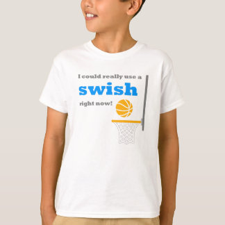 Basketball Swish Kids T-Shirt