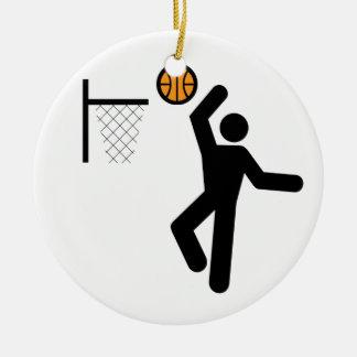 Basketball Symbol Ornament