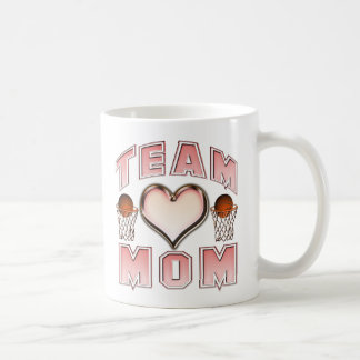 Basketball Team Mom Coffee Mugs