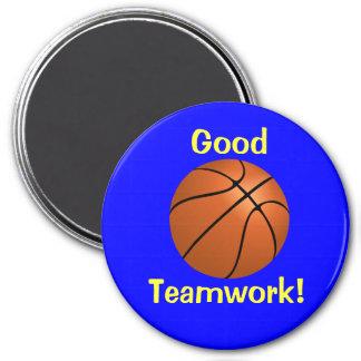Basketball Teamwork Magnet