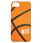 Basketball Texture Personalized # iPhone5 case iPhone 5C Cases