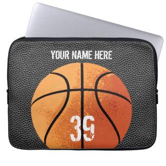 Basketball (textured) laptop sleeve
