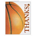 Basketball-Thank You Coach! Card