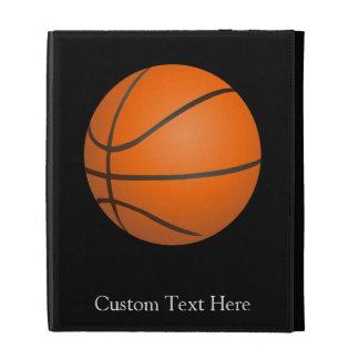 Basketball Theme iPad Folio Case