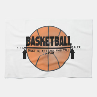 Basketball This Tall To Play Kitchen Towel
