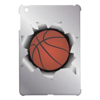 basketball thru metal sheet iPad mini cases