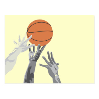 Basketball Tip Off T-shirts and Gifts Postcard