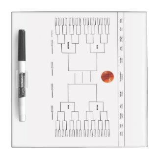 Basketball Tournament Bracket Dry-Erase Boards
