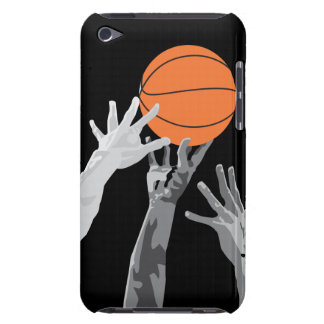 basketball up for grabs vector design Case-Mate iPod touch case