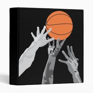 basketball up for grabs vector design vinyl binder
