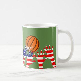 Basketball USA Coffee Mug