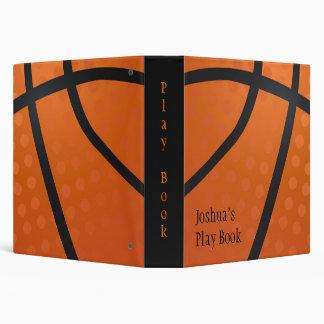 Basketball Vinyl Binder