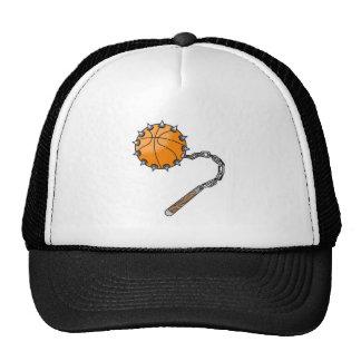 basketball whip mace hat