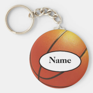 basketball with your nasty on it basic round button keychain