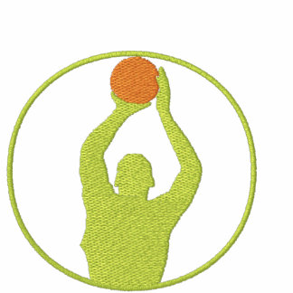 Basketball Women Embroidered T-Shirt
