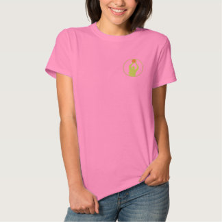 Basketball Women Embroidered T-Shirt Embroidered Shirt