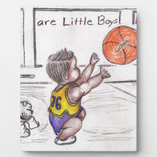 Basketballer Plaque