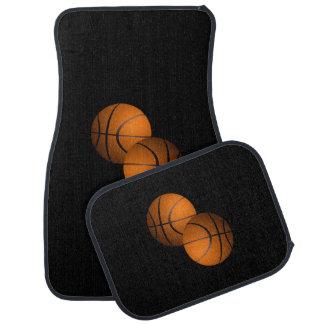 Basketballs Car Mat