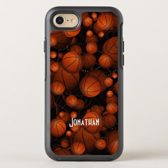 Basketballs everywhere OtterBox symmetry iPhone 7 case