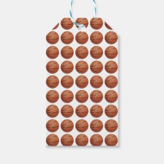 Basketballs Gift Tags