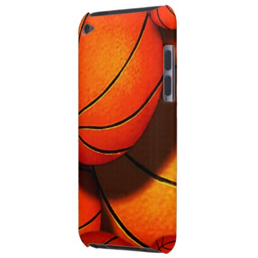 Basketballs iPod Case iPod Case-Mate Cases