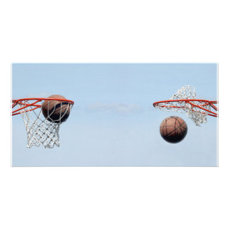 Basketballs! Photo Card Template