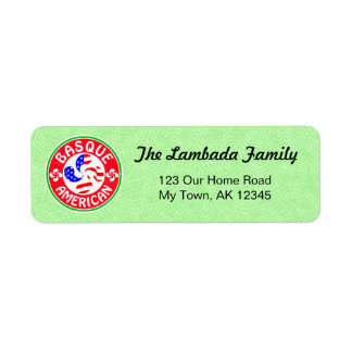 Basque American Address Labels