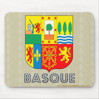 Basque Coat of Arms Mouse Pad