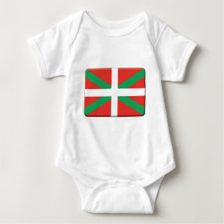Basque Country Flag PERSONALIZE Baby Bodysuit