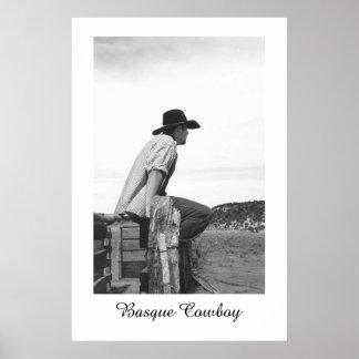 Basque Cowboy Poster