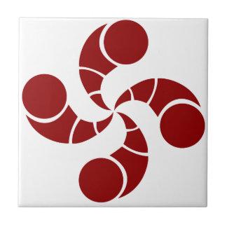 Basque cross of golf tile