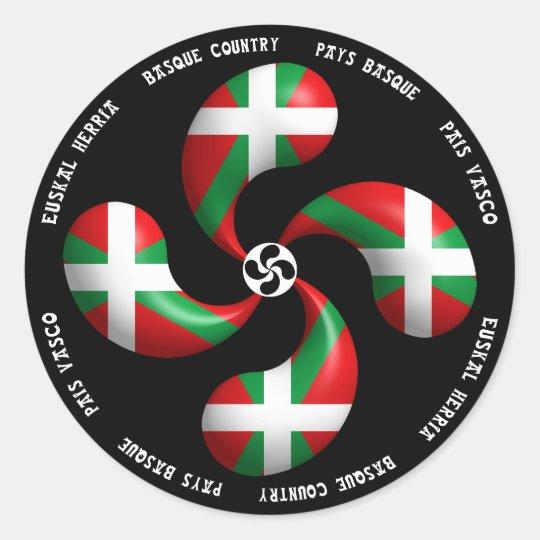 Basque Cross Sticker