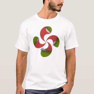 Basque cross tee-shirt T-Shirt