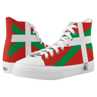 Basque Flag High Tops