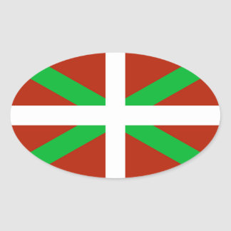 Basque Flag Ikurrina Sticker